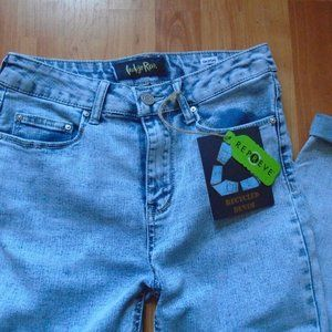 INDIGO REIN Bleached High Rise Jeans Bottoms NWT
